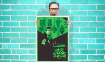 The Big Bang Theory House Of Secrets Green